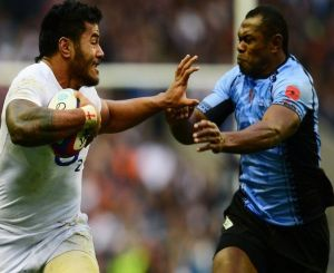Samoan born Manu Tuilagi will be a thorn for Fiji in the 2015 Rugby World Cup. Photo: Planet Rugby