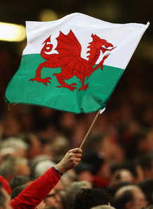 The Welsh flag flies proudly in Cardiff. Photo: Planet Rugby