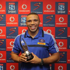 Brian Habana . . . awarded for the IRPA Try of the Year Award 2012. Photo: IRB