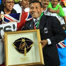 Waisale Serevi was inducted into the IRB Hall of Fame last month. Photo: IRB