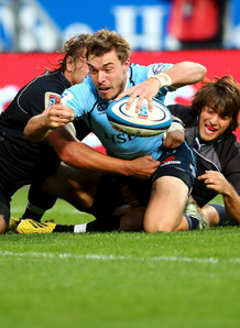 Can Crawford scores one of his three tries. Photo: Planet Rugby
