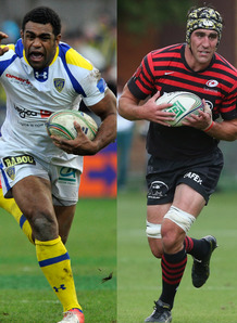 Nalaga, Brown made the top pick of the Heineken Cup semi-finals. Photo: Planet Rugby