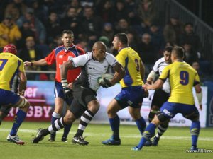 Inside centre Nemani Nadolo has a run against Romania on Sunday. Photo: Planet Rugby