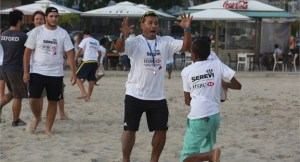 Serevi at a HSBC Rugby Sevens Festival programme. Photo: IRB
