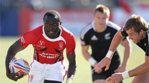 Collins Injera hope to inject some sevens rugby magic for the Kenya XV. Photo: IRB