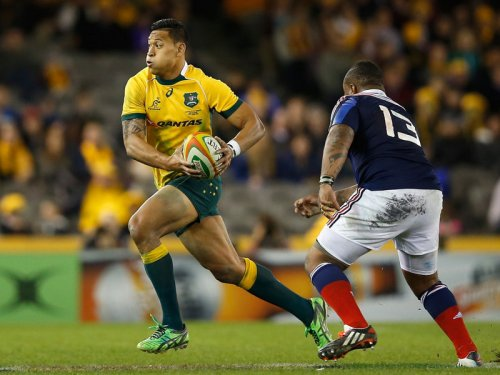 Israel Folau will play rugby union in Australia for now. Photo: SkySports