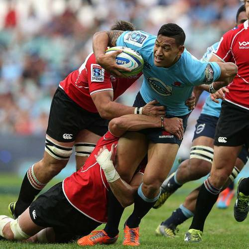 Gosper would like to see Israel Folau in Rio de Janeiro in 2016. Photo: Getty Images