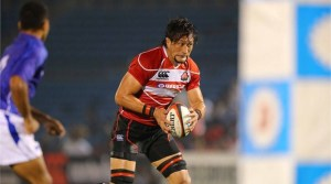 Landmark: Hitoshi Ono won a Japan record 82nd Test cap in the victory against Samoa. Photo: IRB