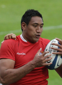 Josh Afu scored a try against Samoa. Photo: Planet Rugby