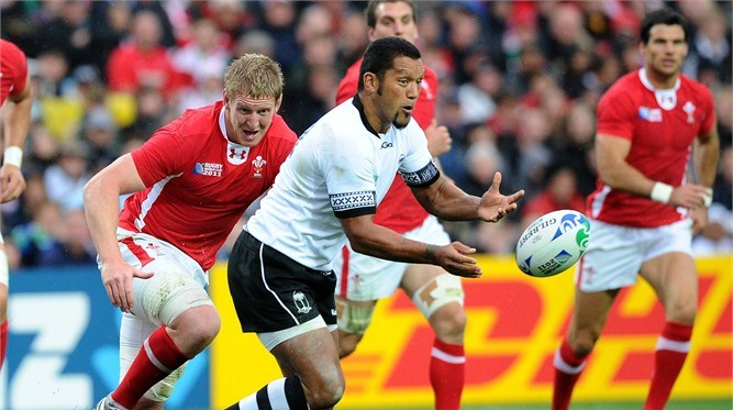 Nicky Little was Fiji's pivot in four RWCs tallying 125 points. Photo: IRB