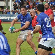 Samoa faces Fiji at the ANZ Stadium in Suva tomorrow. Photo: IRB