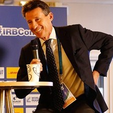 Olympics gold medallist Sebastian Coe was a speaker at the conference last year. Photo: IRB