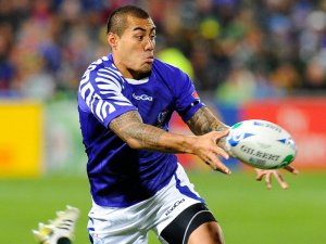 Samoan flyhalf Tusi Pisi kicked six penalties for Samoa's 18-15 win over Fiji. Photo: Skysports