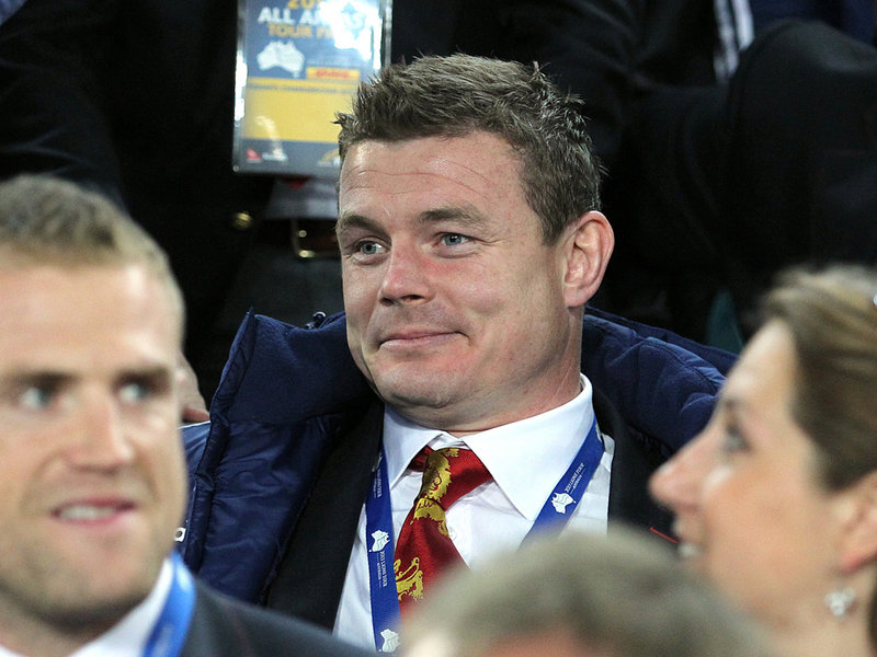 Brian O'Driscoll on the British Lions tour last year. Photo: Planet Rugby