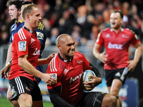 Crusaders secure last four spot. Photo: Planet Rugby