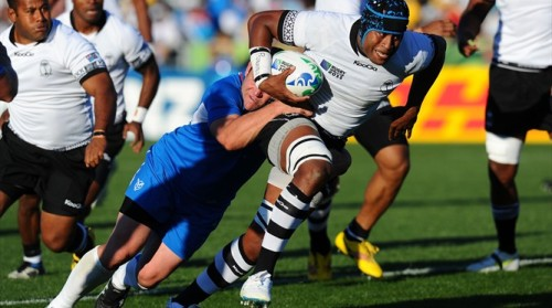 Fiji have already featured at six Rugby World Cups and will now be looking to make the most of a tough assignment at RWC 2015. Photo: IRB
