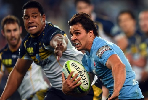 The Waratahs scored a couple of cracking tries but their defence won them into the Super Rugby final. (AAP Image/Paul Miller)