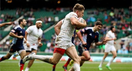 Phil Burgess scored a hat-trick against Portugal. Photo: IRB