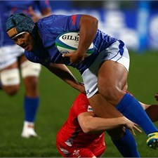Samoa were one of the teams to benefit from the decision-making workshops at #JWC2014. Photo: IRB