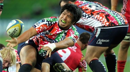 Shota Horie is a big influence for the Melbourne Rebels. Photo: IRB