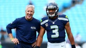 Coach Pete Carroll of Super Bowl champions Seattle Seahawks. Photo: NBC