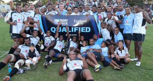 Fiji qualified for the RWC 2015 after defeating the Cook Islands last month. Photo: Skypacific