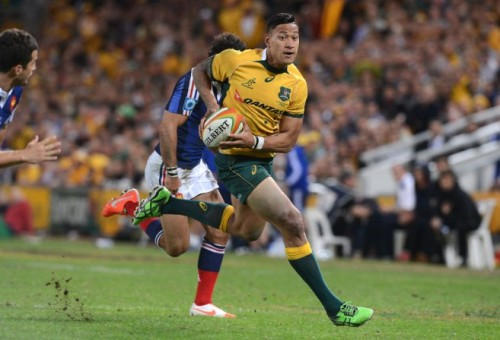 Is Folau a modern version of David Campese? Photo: AAP