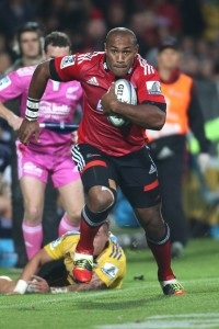 Nemani Nadolo will be attacking for the Crusaders in Super Rugby for another two years. Photo: Zimbio