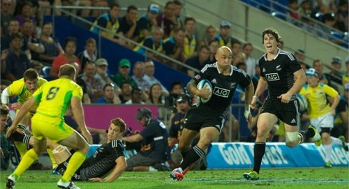 New Zealand will now come face to face with Australia in the Oceania sevens tournament to rule in the region. Photo: IRB