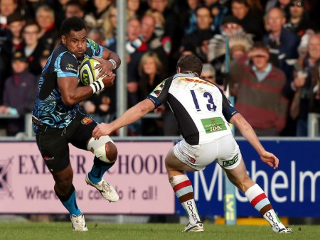 Naqelevuki will switch to the forwards for Exeter. Photo: Skysports