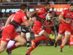Toulon's Delon Armitage attacks against Brive. Photo: Skysports