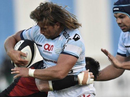 Racing rake Dimitri Szarzewski takes on the Lyon defence. Photo: Skysports