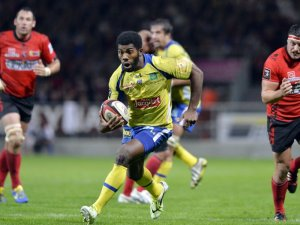 Clermont right winger Noa Naikataci was always threatening against Oyonnax. Photo: Skysports