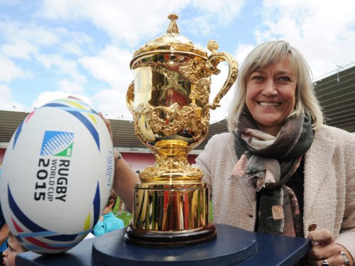 Debbie Jevans, CEO of England Rugby 2015. Photo: Skysports