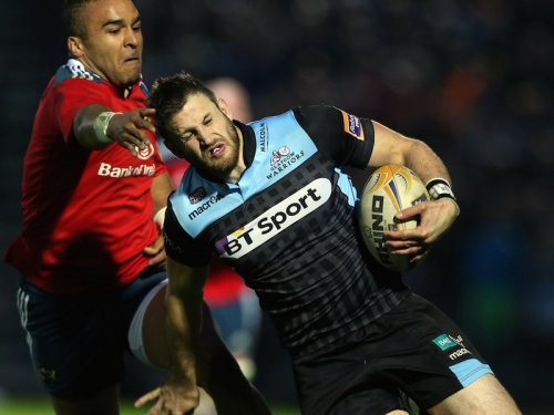 Tommy Seymour scored a brace for Glasgow. Photo: Planet Rugby