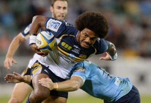 Henry Speight will debut against the Barbarians. Photo: Roar