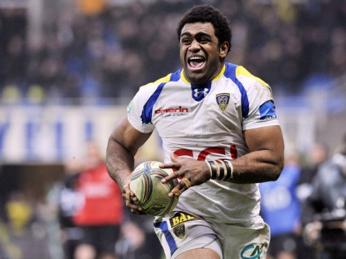 Clermont try scoring machine Napolioni Nalaga. Photo: Planet Rugby