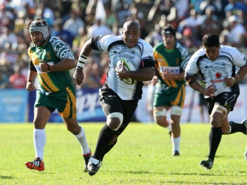 Nemani Nadolo attacks against the Cook Islands earlier this year. Photo: Planet Rugby