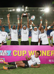 Fiji last won at the opening tournament at the Gold Coast in Australia. Photo: IRB