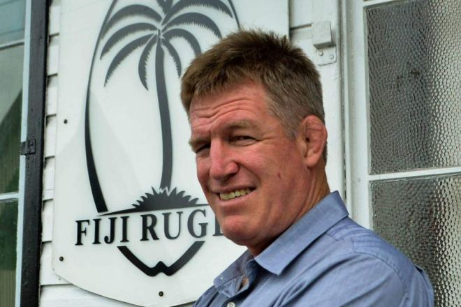 Flying Fijians coach John McKee . . . a big mountain to climb