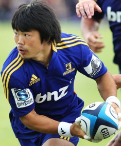 Fumiaki Tanaka will play for the Cherry Blossoms for the first time this year against Fiji. Photo: Stuff.co.nz