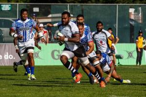 One of the prolific try scorers for Fiji Leone Nakarawa will be a hard man to stop during the RWC next month. Photo: World Rugby