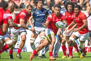 Tonga defeated Japan to claim third position. Photo: World Rugby