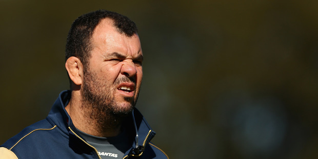 Timely reminder for Cheika's men to be vigilant. Photo: Getty Images
