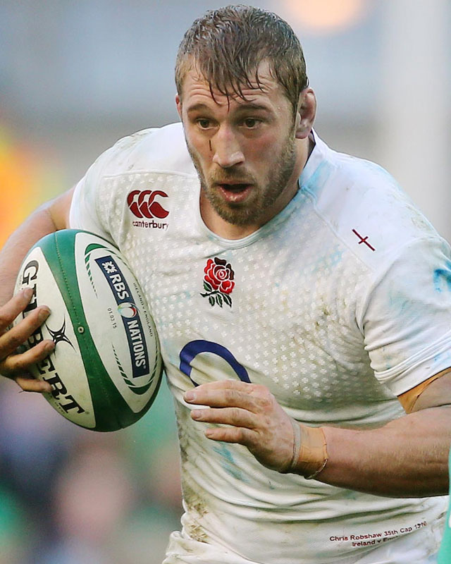 England skipper Chris Robshaw has led his England side well during the Six Nations competition. Photo: Planet Rugby
