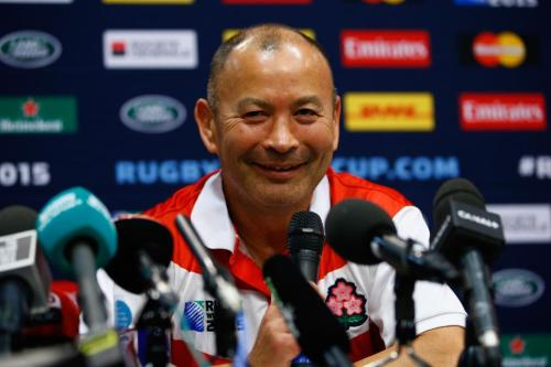 Japan coach Eddie Jones says the Scots played way better than the Cherry Blossoms. Photo: World Rugby