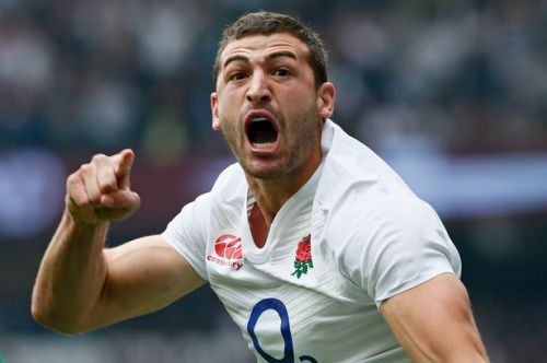 Jonny May has propelled English scoring opportunities on the wing with the help of Olympics champion. Photo: Mirror