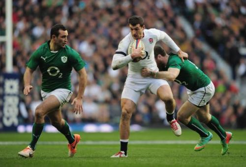 Jonny May looked sharp against the Irish a fortnight ago. Photo: The Guardian