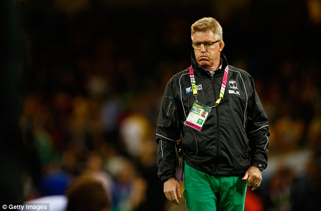 McKee rues first half mistakes against Australia. Photo: Getty Images