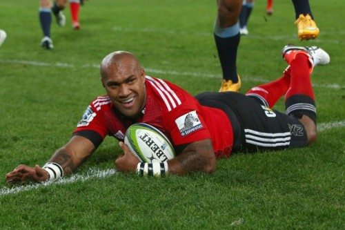 Nemani Nadolo plays for the Crusaders in Super Rugby. Photo: Rugby World